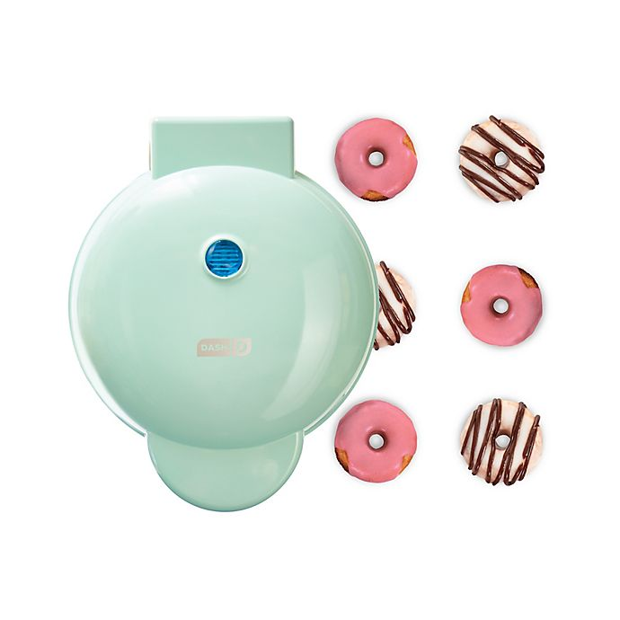 Alternate image 1 for DASH® Express Mini Donut Maker in Aqua