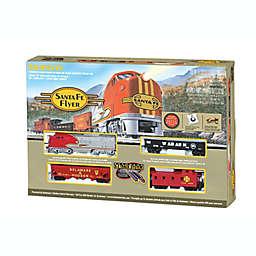 Bachmann® Trains HO Scale Santa Fe Flyer Train 18-Piece Playset