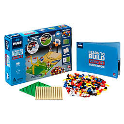 Plus®-Plus Learn to Build Sports Building 380-Piece Playset