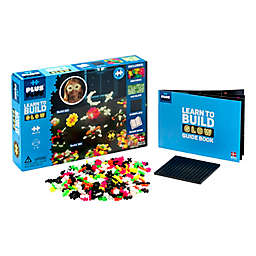 Plus®-Plus-Learn to Build Glow in The Dark 400-Piece Playset