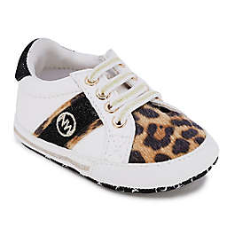 Nine West Size 6-9M Animal Print Sneakers in White