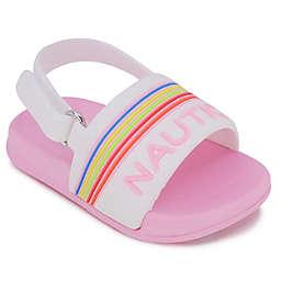 Nautica® Size 6-9M Slide Sandal in White