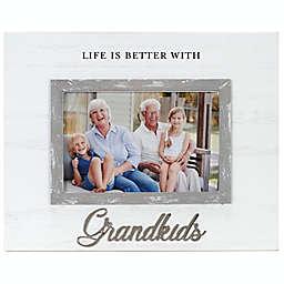 4-Inch x 6-Inch Grandkids Cursive Picture Frame