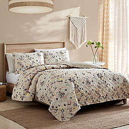 Azilal 3-Piece Reversible Full/Queen Quilt Set
