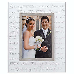5-Inch x 7-Inch Corinthians Tabletop Picture Frame