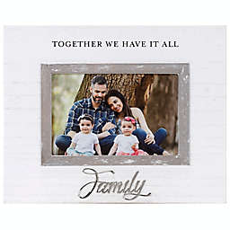 4-Inch x 6-Inch Family Cursive Picture Frame