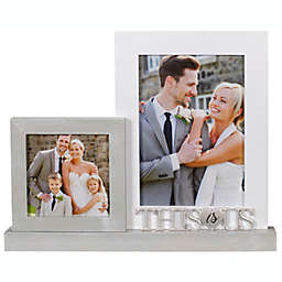 """""""This Is Us"""" 2-Photo Platform Picture Frame"""
