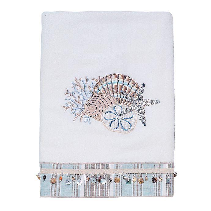 Alternate image 1 for Avanti By The Sea Bath Towel in White