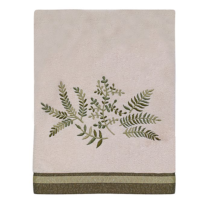 Alternate image 1 for Avanti Greenwood Bath Towel in Ivory