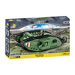 COBI® 601-Piece Small Army Mark I Tank Block Building Kit
