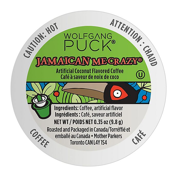 Alternate image 1 for Wolfgang Puck® Jamaican Me Crazy® Coffee Pods for Single Serve Coffee Makers 24-Count