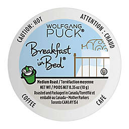 Wolfgang Puck® Breakfast in Bed® Coffee Pods for Single Serve Coffee Makers 24-Count