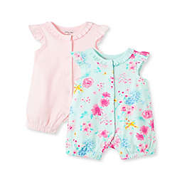 Little Me® 2-Pack Rompers