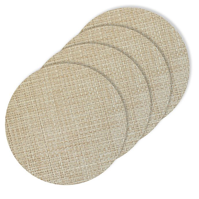 Alternate image 1 for Bistro 15-Inch Round Placemats (Set of 4)