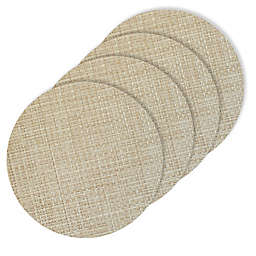 Bistro 15-Inch Round Placemats (Set of 4)