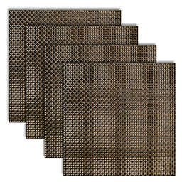 Bistro 14-Inch Square Placemats in Ash (Set of 4)