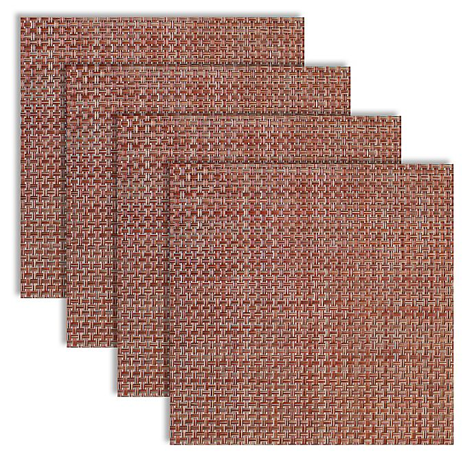 Alternate image 1 for Bistro 14-Inch Square Placemats (Set of 4)