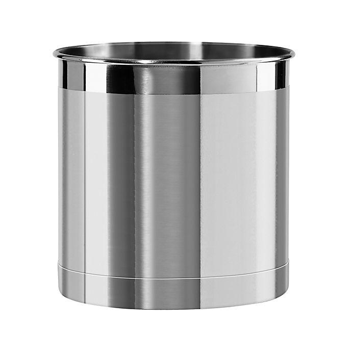 Alternate image 1 for Simply Essential™ Jumbo Stainless Steel Utensil Holder