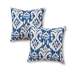 Greendale Home Fashions Square Indoor/Outdoor Throw Pillows (Set of 2)