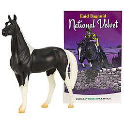 Breyer® Freedom National Velvet Horse Figurine and Book 2-Piece Set