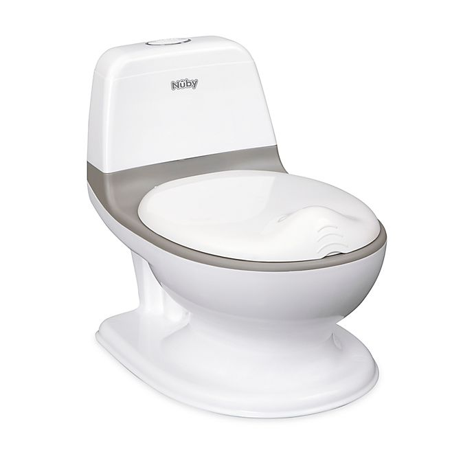 Alternate image 1 for Nuby™ My Real Potty in White