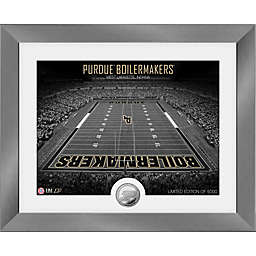 Purdue University Boilermakers Art Deco Stadium Silver Coin Photo Mint