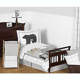 Sweet Jojo Designs® Woodland Friends 5-Piece Toddler Bedding Set in Beige/Grey<br />