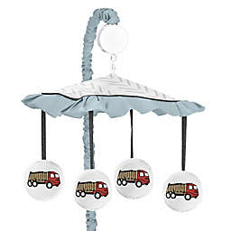 Sweet Jojo Designs&reg; Construction Truck Musical Mobile in Red/Blue<br />
