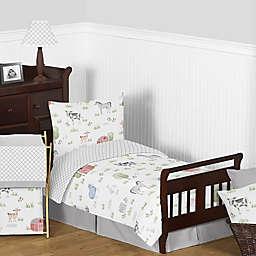 Sweet Jojo Designs® Farm Animals 5-Piece Toddler Bedding Set