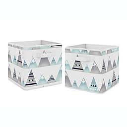 Sweet Jojo Designs® Mountains Storage Bins (Set of 2)