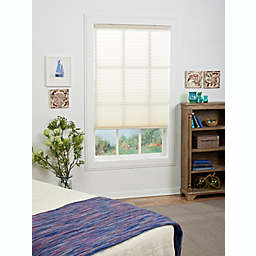St. Charles Light Filtering 51-Inch x 48-Inch Cordless Pleated Shade in Ivory