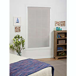 St. Charles Light Filtering 45-Inch x 72-Inch Cordless Pleated Shade in Silver Grey
