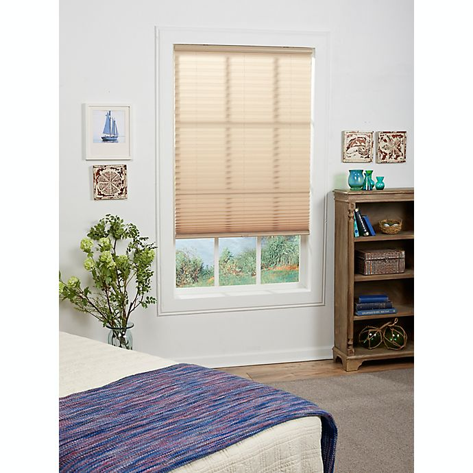 Alternate image 1 for St. Charles Cordless Pleated Shade Collection