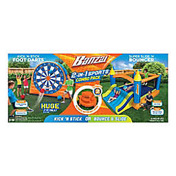 Banzai Kick 'N Stick Foot Dart Game & Slide