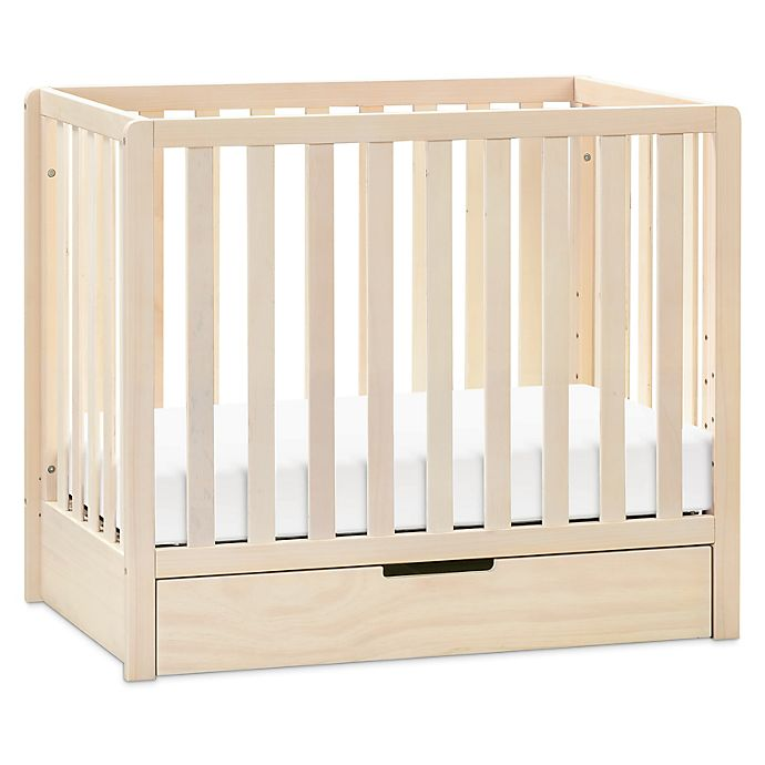 Alternate image 1 for carter's® by DaVinci® Colby 4-in-1 Convertible Mini Crib with Trundle in Natural