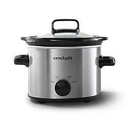 Crockpot™ 2-Quart Slow Cooker, Stainless Steel