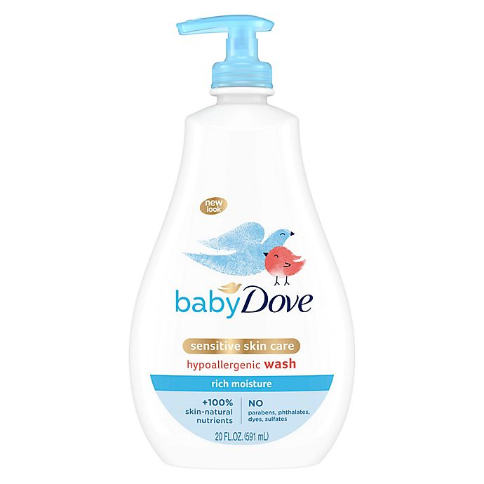 Alternate image 1 for Baby Dove® 20 oz. Tip to Toe Wash in Rich Moisture