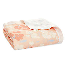 aden + anais™ essentials Koi Pond Silky Soft Dream Blanket in Pink