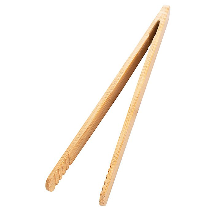 Alternate image 1 for Simply Essential™ Bamboo Toaster Tongs in Natural