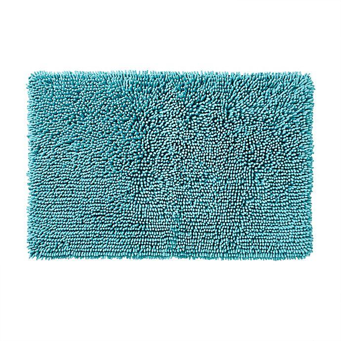 Alternate image 1 for SKL Home Ocean Watercolor Scales Bath Rug Collection in Aqua