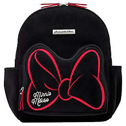 Petunia Pickle Bottom® Signature Minnie Mouse District Diaper Bag Backpack in Black