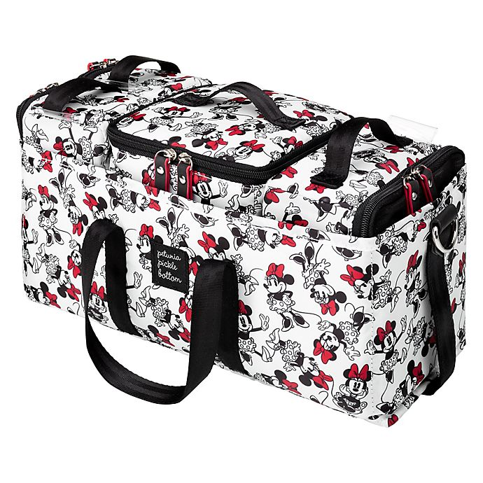 Alternate image 1 for Petunia Pickle Bottom® Disney's Minnie the Muse Deluxe Caddy in Red/White
