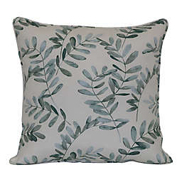 Bee & Willow™ Home Water Fern Square Indoor/Outdoor Throw Pillow in Green