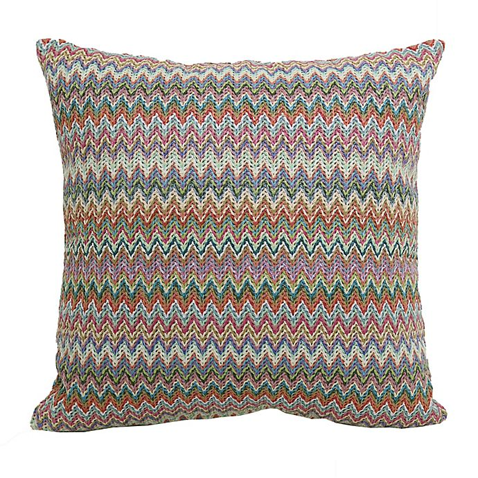 Alternate image 1 for Hermosa Woven Square Indoor/Outdoor Throw Pillow