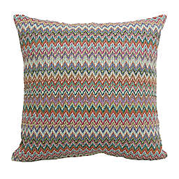 Hermosa Woven Square Indoor/Outdoor Throw Pillow