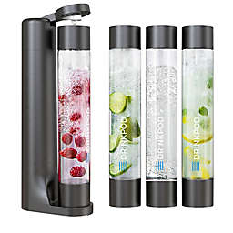 Drinkpod® FIZZPod One Touch Sparking Soda Maker Value Pack