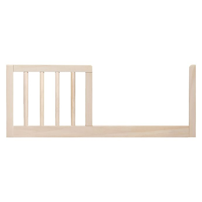 Alternate image 1 for Babyletto Gelato Mini Toddler Bed Guard Rail in Washed Natural