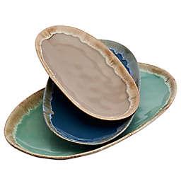 Tabletops Gallery® Tuscan 3-Piece Serving Platter Set