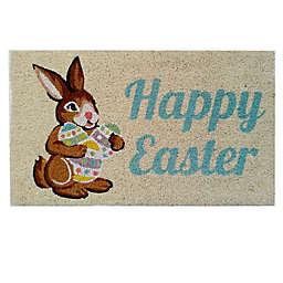 """Easter 30"""" x 18"""" Bleached Door Mat"""