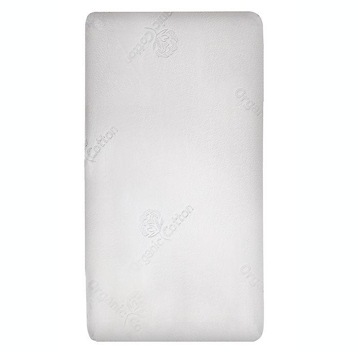 Alternate image 1 for Eclipse® Wellness Hybrid Lite Waterproof Crib Mattress in White